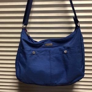 Baggallini Crossbody Blue Nylon